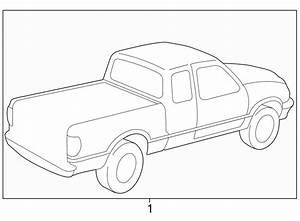 Mazda B2500 Trim Stripe Tape  Type 3  Cab Plus  Prairie