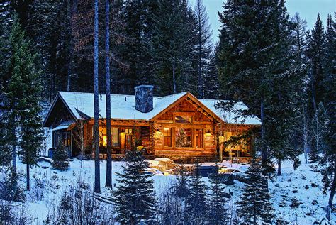 cabins for in montana how the west was done