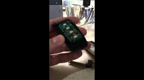 newer lexus key fob battery replacement simple youtube