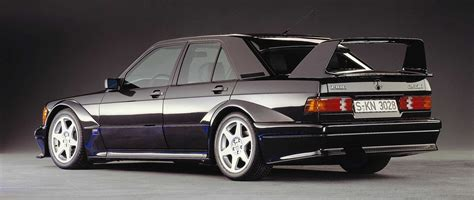 For the evo ii, mercedes refined the developments of the evo i. 1990 Mercedes-Benz 190E 2.5-16 Evolution II | Turtle Garage