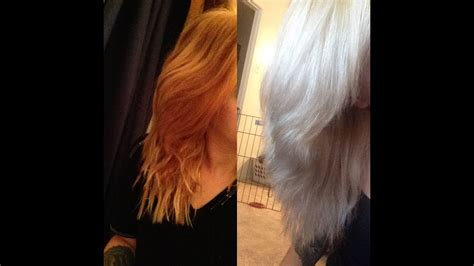 Toning Orange Hair