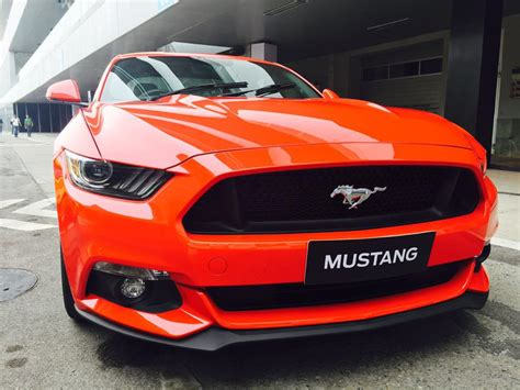 ford mustang gt india price images  launch ceremony