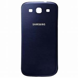 Copribatteria per Samsung I9300I Galaxy S3 Neo Blu Metallico