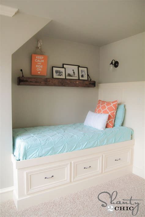 diy beds  plans  tutorials shanty  chic