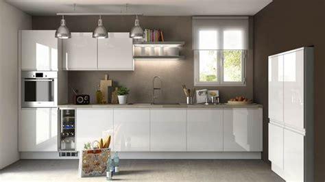 cuisine laque blanc 10 cuisines blanches qui ont du style