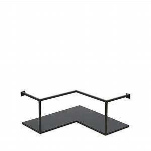 étagère Murale D Angle : etag re d 39 angle design industriel m tal noir meert by drawer ~ Teatrodelosmanantiales.com Idées de Décoration