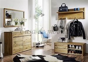 Garderobe Eiche Massiv Geölt : massivholz wandgarderobe eiche buche ge lt h nge flur ~ Watch28wear.com Haus und Dekorationen