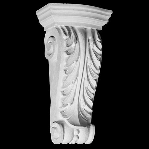 Resin Corbel by Cb 218 Series Acanthus Leaf With Resin Corbel 714