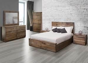 jc perreault mobilier de chambre a coucher en bois set With les chambre a coucher en bois