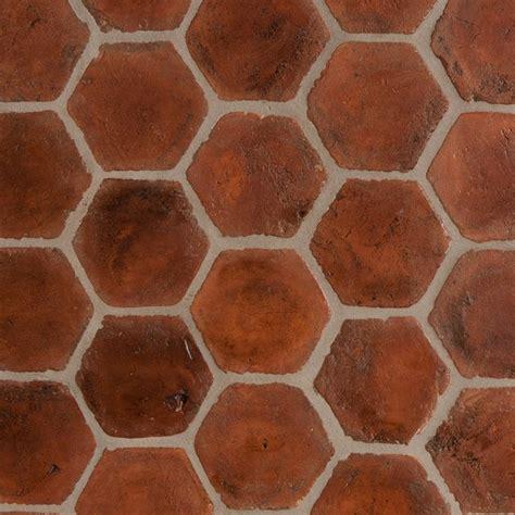 Terracotta Dining Room by Spanish Terracotta Tiles Stained Light Walnut