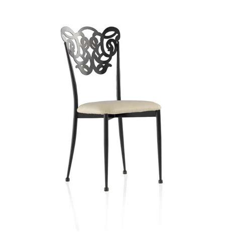 chaises en fer forg chaise en fer forgé milos 4 pieds tables chaises et