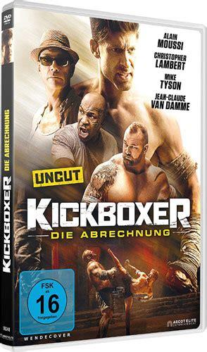 kickboxer die abrechnung van damme  action
