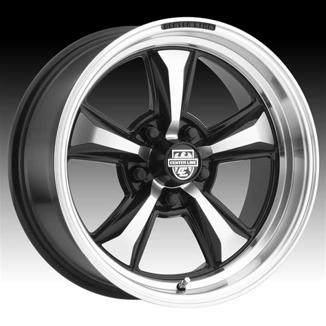 Classic mercedes parts belgium offers an assortment of vintage spare parts that expands every month. Center Line 635MB CM6 Machined Black Custom Wheels Rims - Centerline Classic Muscle - Custom ...
