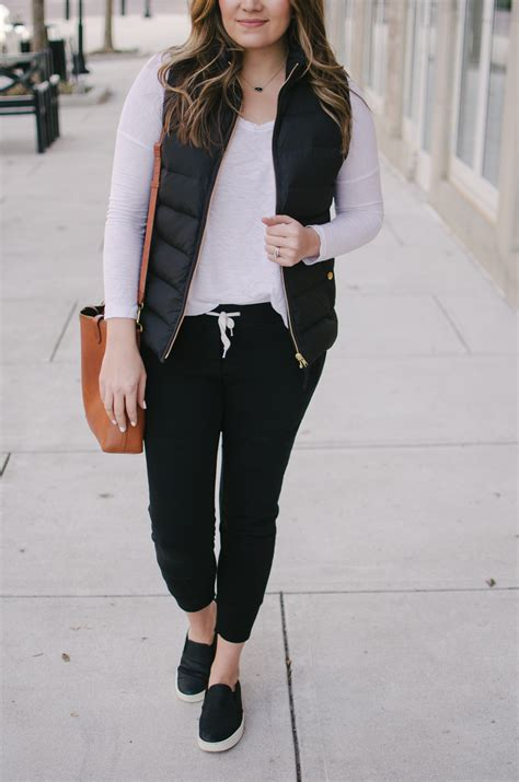 Casual Jogger Pants Outfits My Tips of How to Wear u0026#39;Em Out   By Lauren M