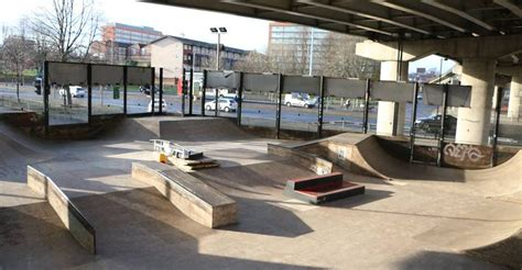 Projekts Mancunian Way | Skatepark in Manchester | SKATE.in