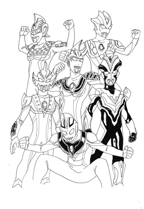Coloring Ultraman Pictures by Ultraman Coloring Pages Coloring Pages