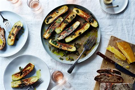 courgette cuisine canal house 39 s marinated zucchini recipe on food52