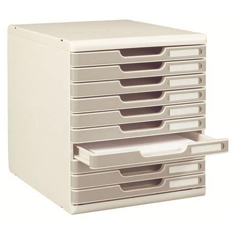 module de classement bureau exacompta module de classement exacompta modulo 10 tiroirs gris jpg 174