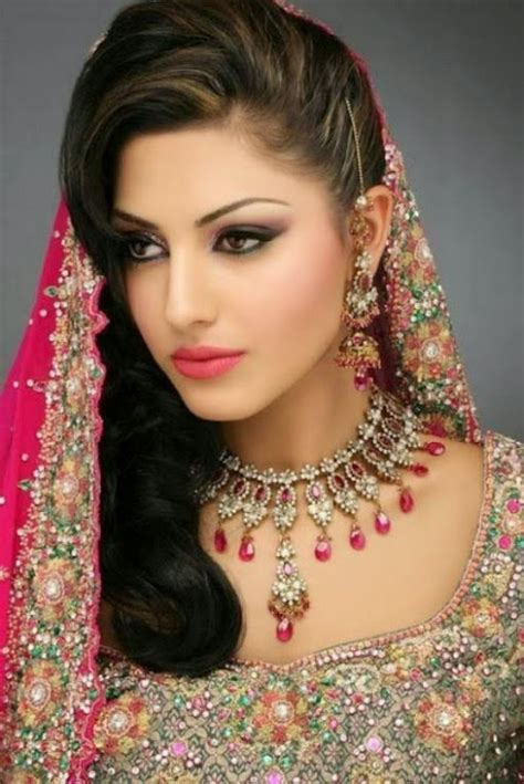 fashion style exclusive pakistani indian hairstyle