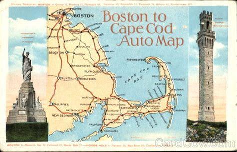 boston  cape  auto map