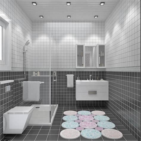 si e de bain modèle de villa à étage 120m2 type traditionnel magnolia