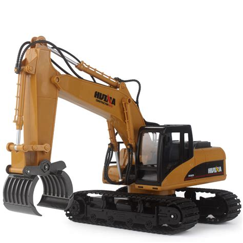 Harga Rc Excavator Metal huina 570 2 4g 1 12 rc excavator 16 channels metal