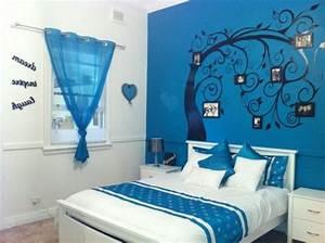 Tapeten Wohnzimmer Ideen 2014 : tapeten schlafzimmer blau ~ Bigdaddyawards.com Haus und Dekorationen