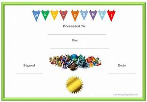 10 certificates for kids certificate templates With kid certificate templates free printable