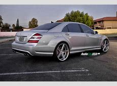 2008 Mercedes Benz S 63 AMG on 22