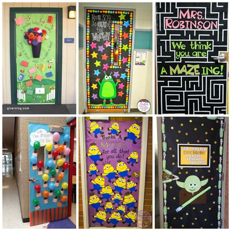 Decorating Ideas For Door by Appreciation Week Ideas Squared