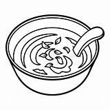 Soup Bowl Suppe Coloring Bol Soep Kom Spoon Malbuch Schuessel Coloriage Soupe Kleurend Boek Livre Illustrations Kruiden Lepel Liggen Daarna sketch template