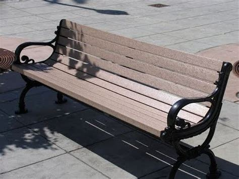 replacement outdoor bench slats  recycled plastic