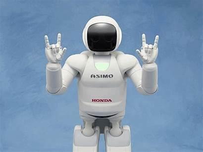 Asimo Robots Honda Animados Gifs