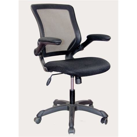 Techni Mobili Desk Chair by Techni Mobili Mesh Task Office Chair In Black Rta 8050 Bk