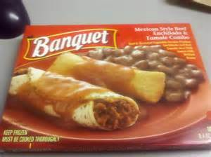 Banquet Entree by Banquet Mexican Style Beef Enchilada Tamale Combo