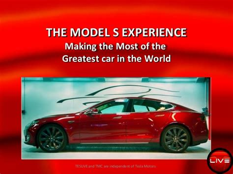 Greatest Car In The World by Tesla Model S The Most Of The Greatest Car In The