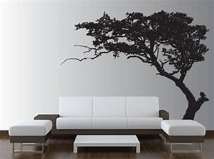 large wall tree decal forest decor vinyl sticker highly With large wall decals