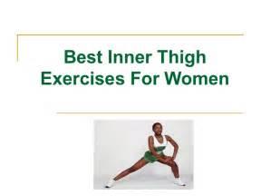Best Inner Thigh Exercises Women