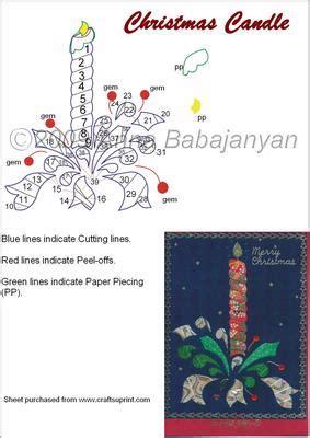 christmas candle cup craftsuprint