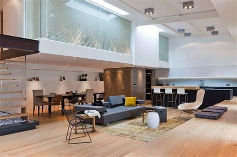 cuisine ancienne moderne loft lyon contemporain salle de séjour lyon par