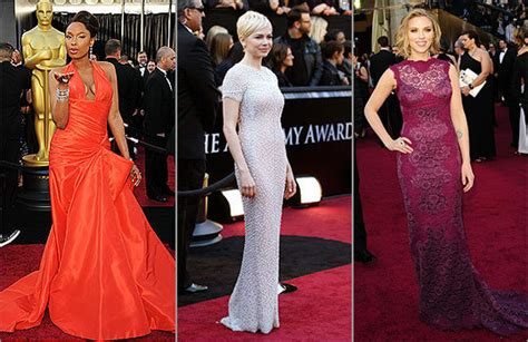 2011 Oscar Fashion Hits And Misses On The Red Carpet