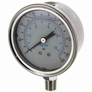Manometre Pression Eau : manom tre vertical de pression d 39 eau 1 4 pouce t te filtre big blue ~ Medecine-chirurgie-esthetiques.com Avis de Voitures