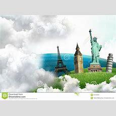 European Holidays  Travelling Background Royalty Free Stock Image  Image 23103656