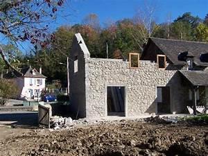 Construction Maison En Pierre : r alisations entreprise de b timent narbeburu aramits ~ Melissatoandfro.com Idées de Décoration