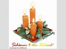 4 Advent Bilder Grüße animiert Facebook BilderGB