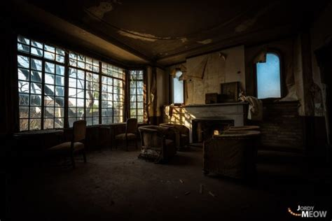 The Intact Abandoned House