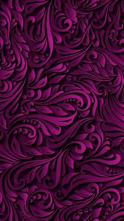 Classy Purple Mobile Cellphone Phone Background Pattern