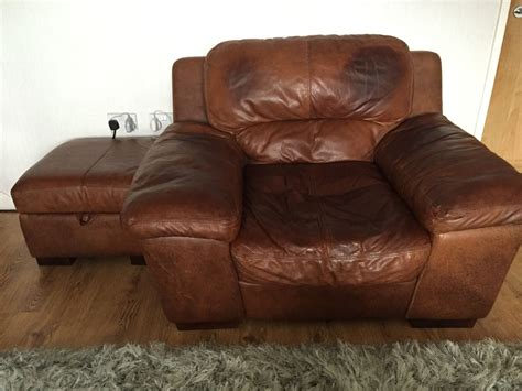 Dfs Leather Armchair For Sale In Uk