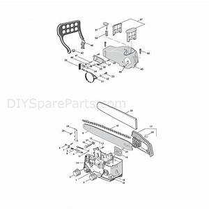 Stiga Sp370  2009  Parts Diagram  Chassis