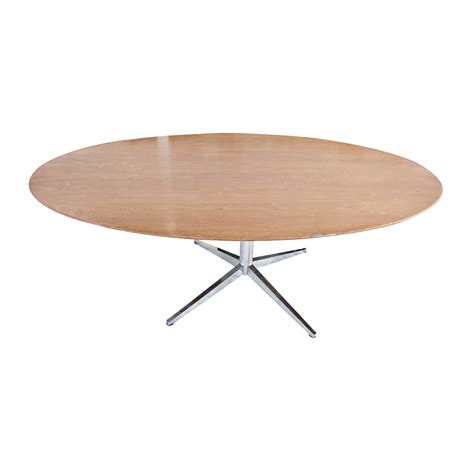5 ft conference table 6 5 ft florence knoll oval conference dining table ebay